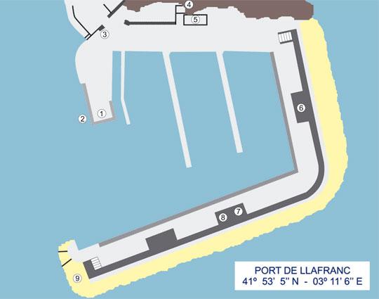 port-nautic-llafranc-plano